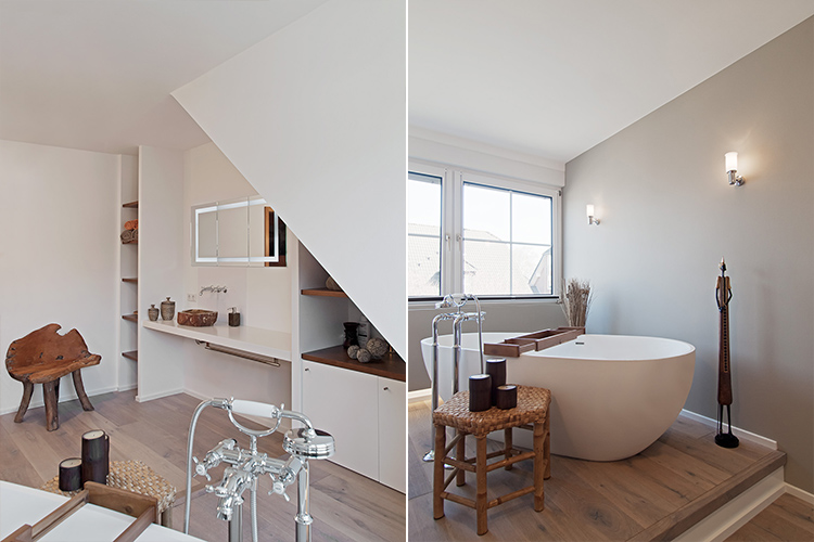 Jacobs die ausumbauer modernisierung sanierung und umbau von immobilien b dern wohnungen - Standarmatur freistehende badewanne ...